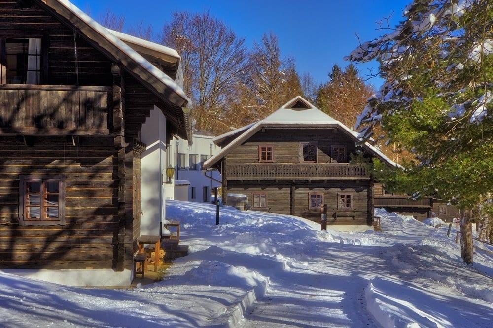 Naturelhotel Dorf Schönleitn winter 1