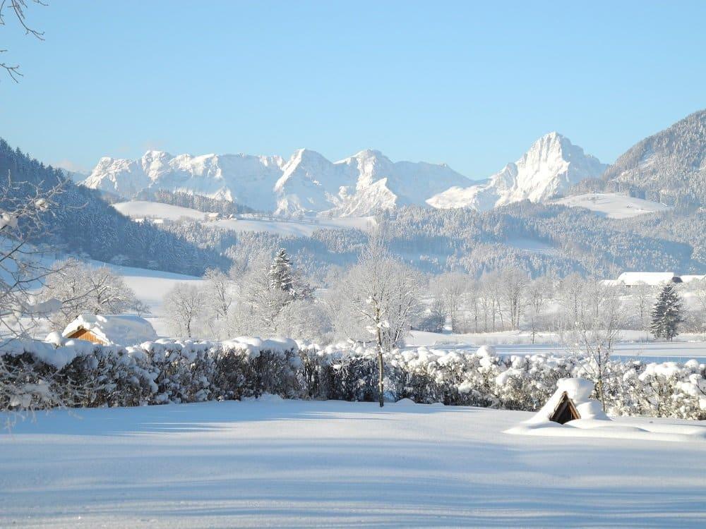 Villa Sonnwend Winterlandschaft