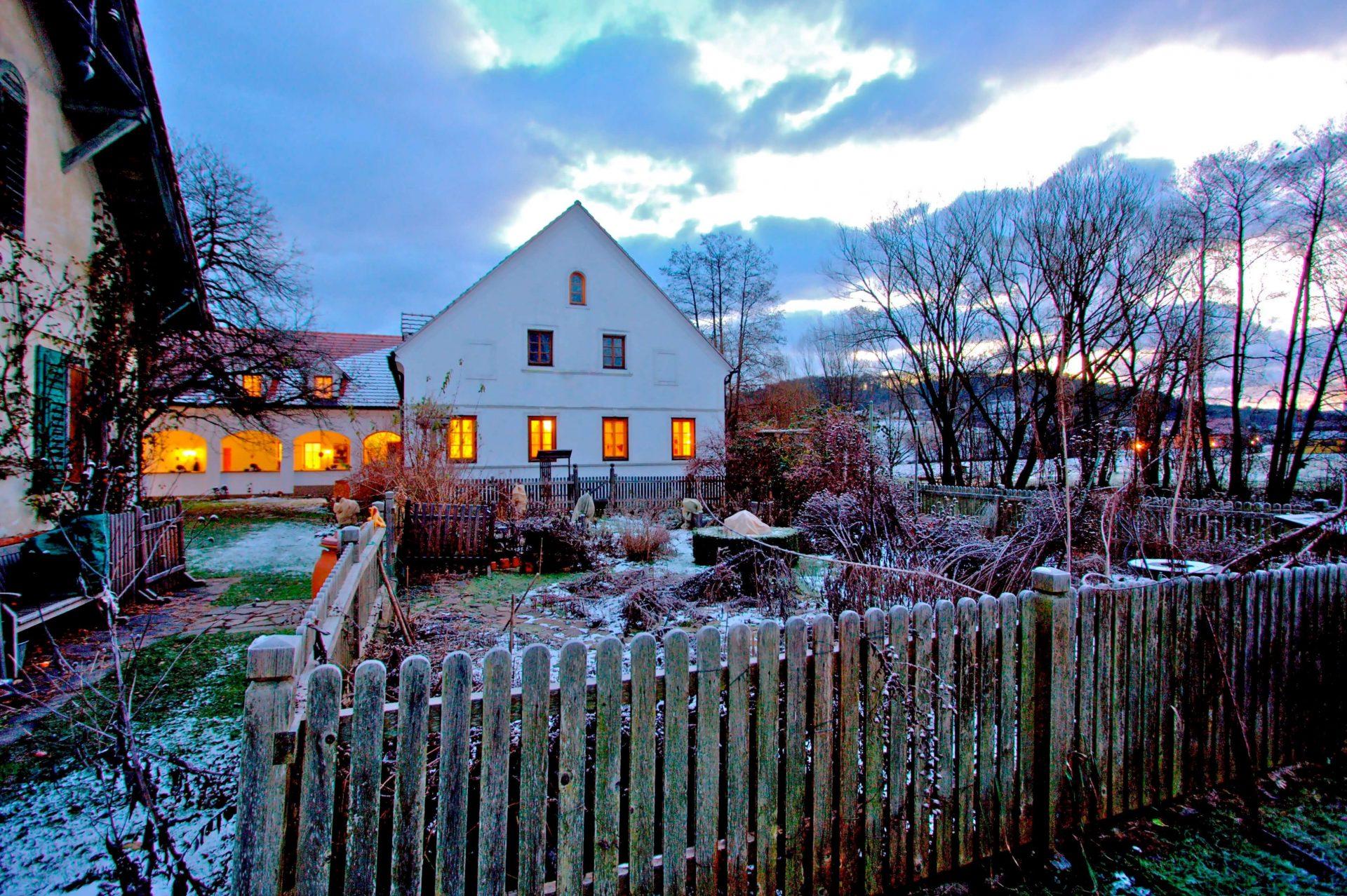 Winterfoto Naturidyll Hotel Landhofmühle