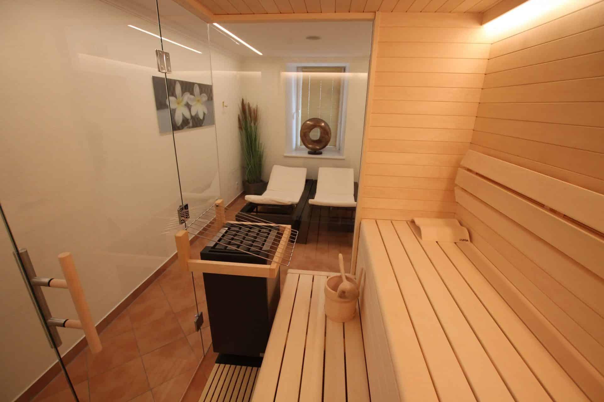 Seeböckenhotel zum weissen Hirschen Sauna