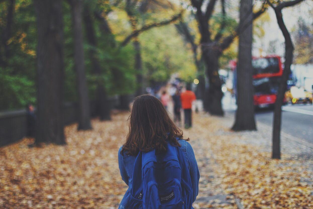 Städtetrip im Herbst