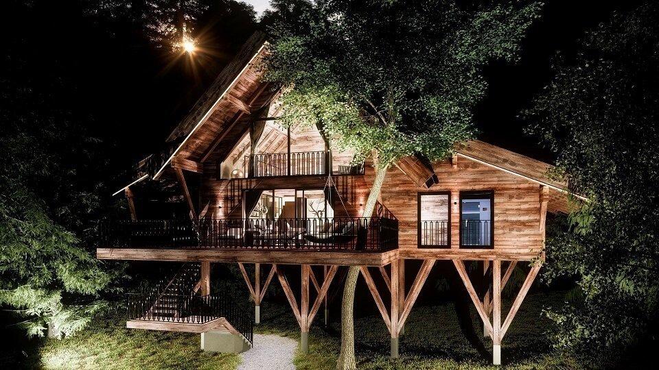 Das Baumhaus vom Umweltzeichen Hotel Gassner