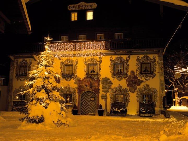 Hotel Walchseer Hof im Winter