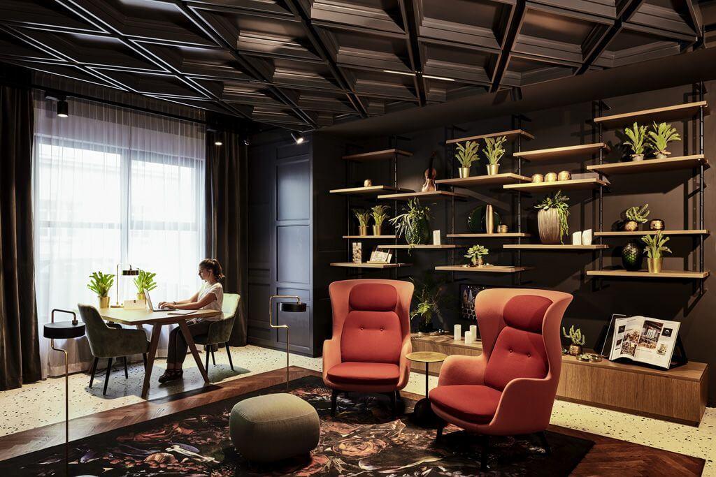 Lounge im Hotel am Konzerthaus © Craig Dillon