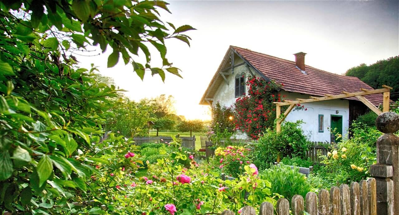 Naturidyll Hotel Landhofmühle Garten