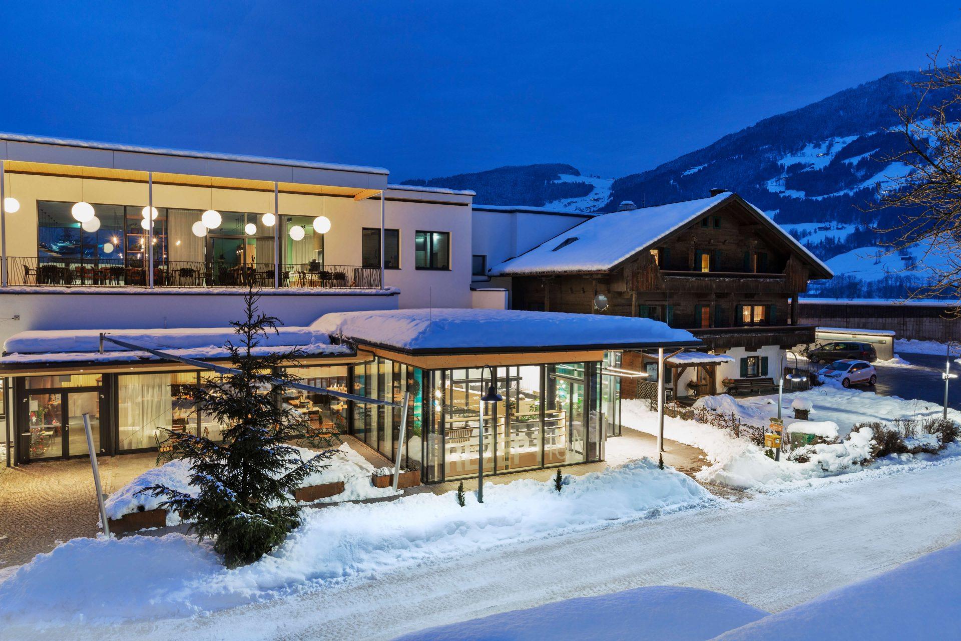 Hell Tirol Winter