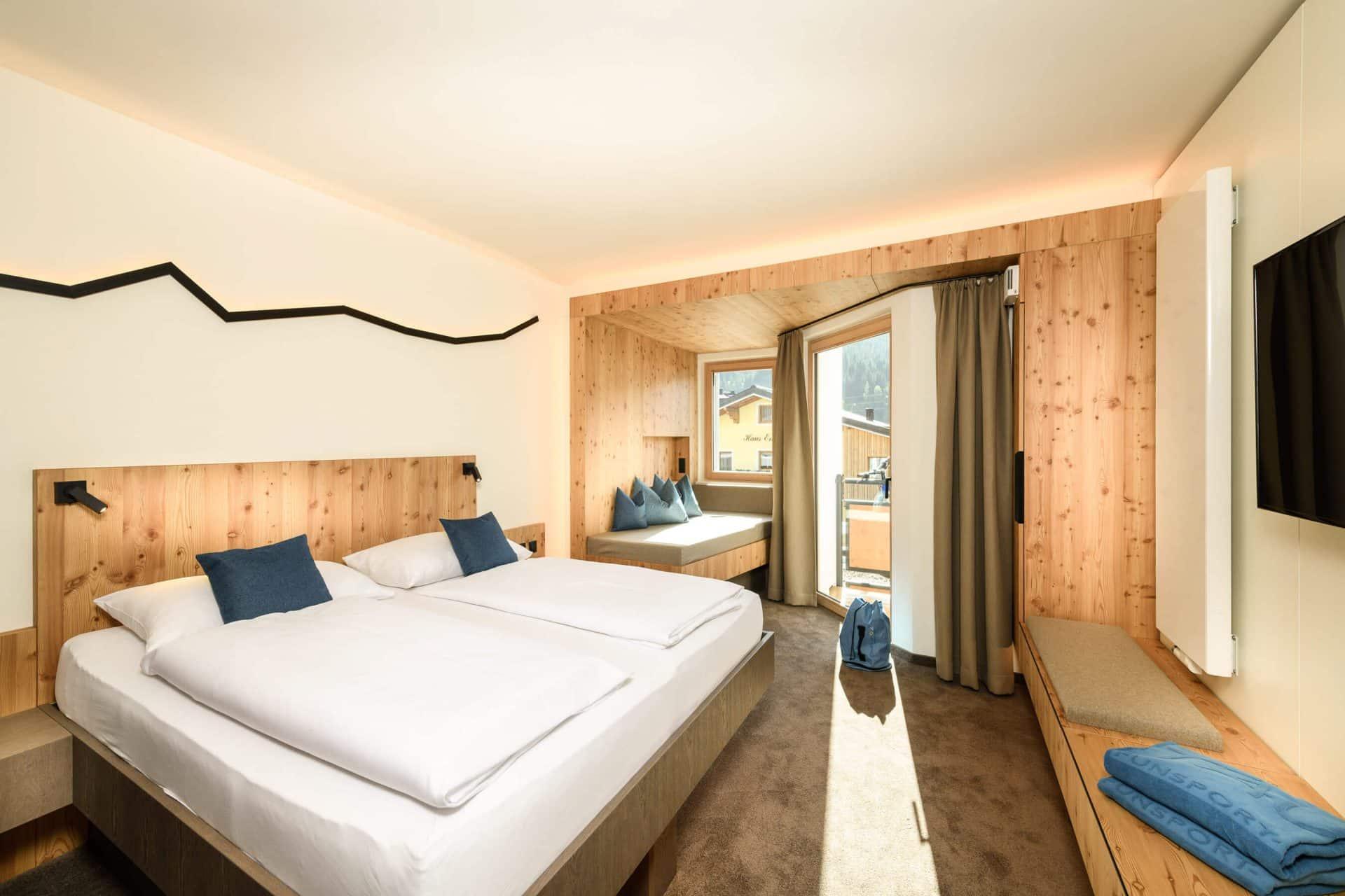 Doppelzimmer Plus im Umweltzeichen Hotel Tauernhof