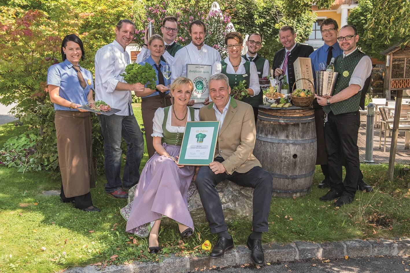25 Jahre Grüne Haube im Retter Bio Natur Resort