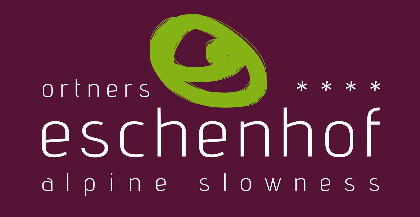Logo Ortners Eschenhof - alpine slowness