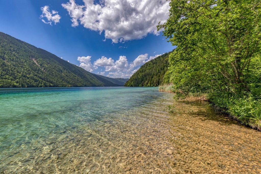 Der Weissensee - Ein Fjord in den Alpen