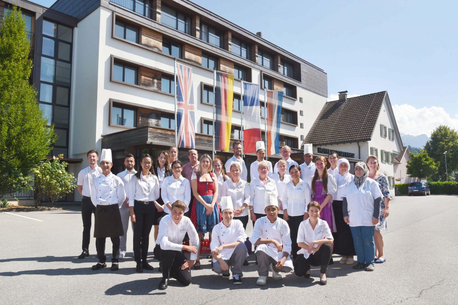Team Hotel Weisses Kreuz