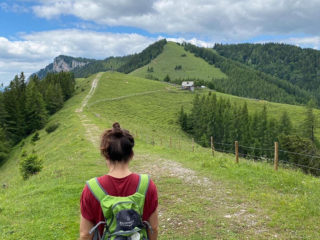 Wanderung im almenland Teichalm Tyrnaueralm Rote Wand ©Travelpins