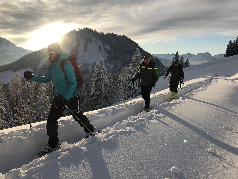 Villa Sonnwend - Schneeschuhwanderung