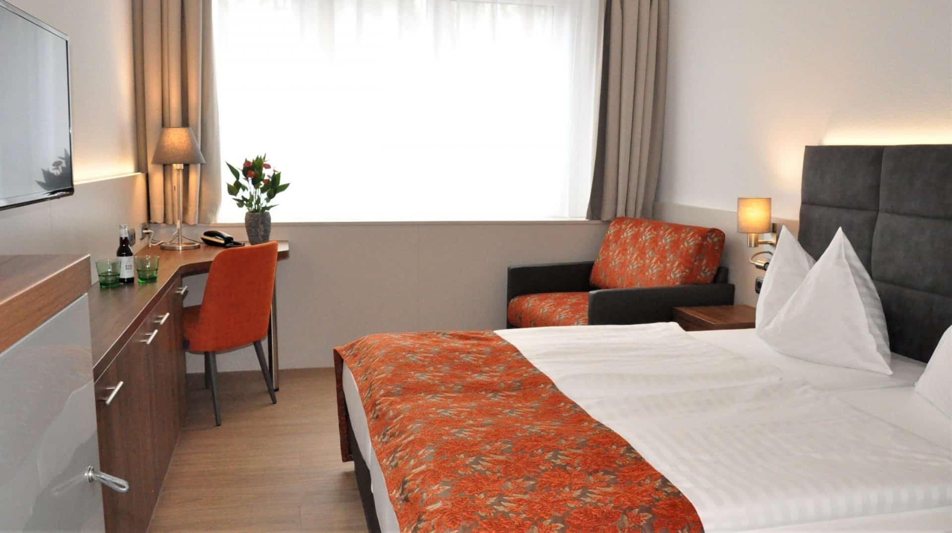 Hotelzimmer Kolping Linz 1