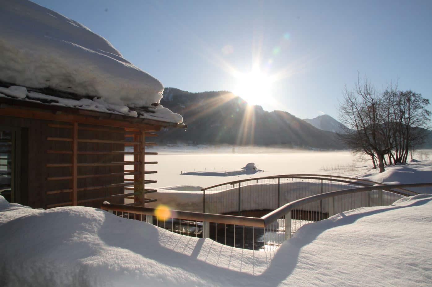 Strandhotel am Weissensee Winter