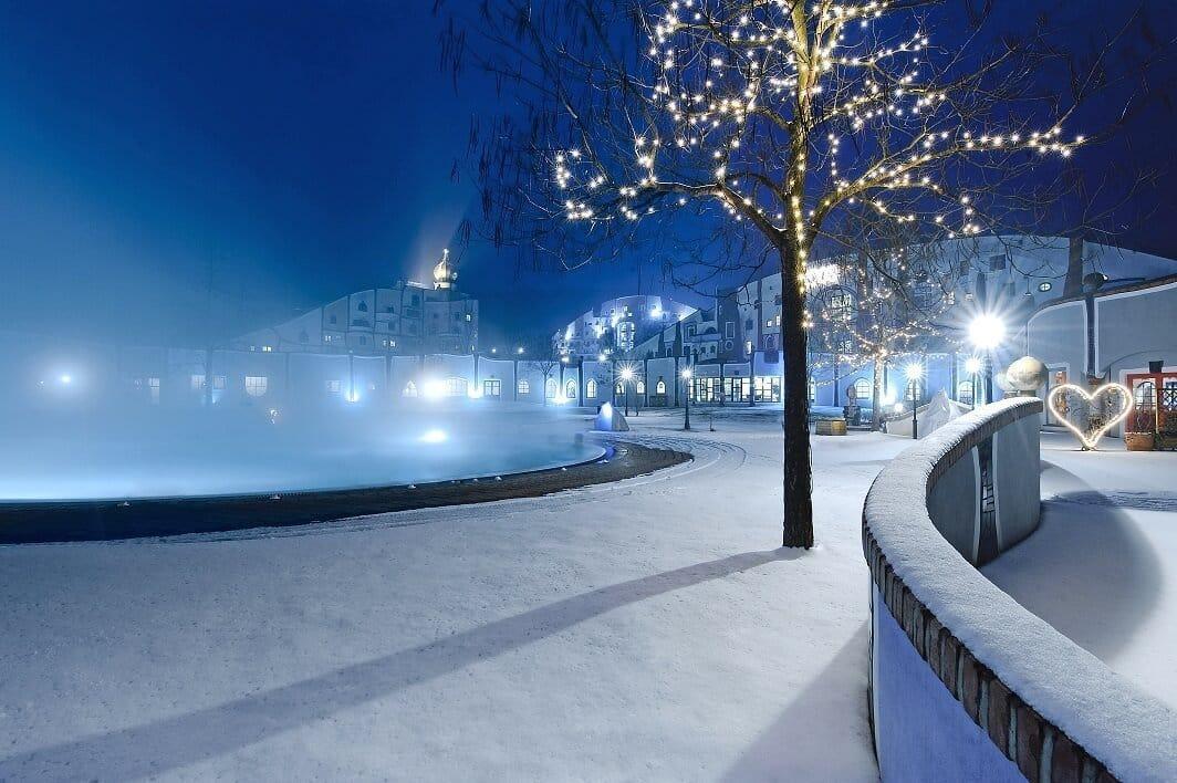 Rogner Bad Blumau im Winter