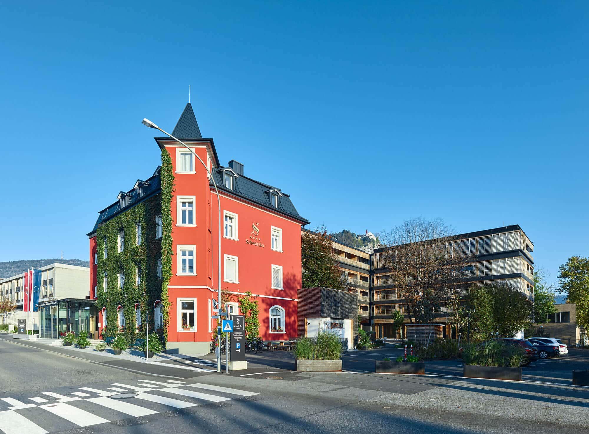 Hotel Schwärzler Außenansicht