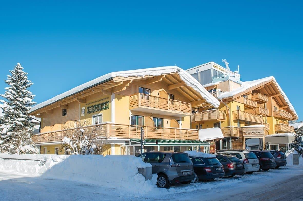 Hotel Gutjahr im Winter