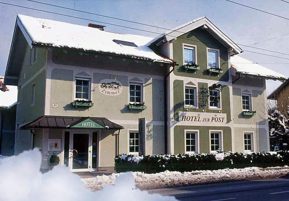 Hotel zur Post im Winter