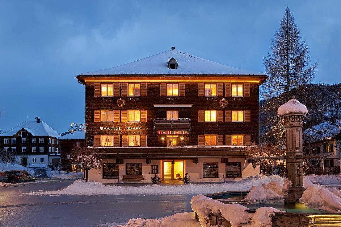 Hotel Gasthof Krone Hittisau - © Adolf Bereuter