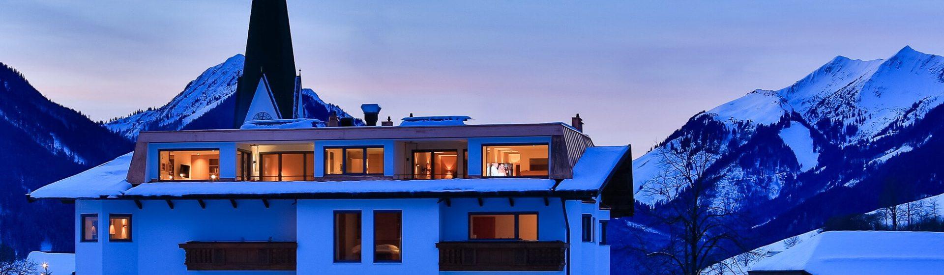 Skysuiten im Juffing Hotel