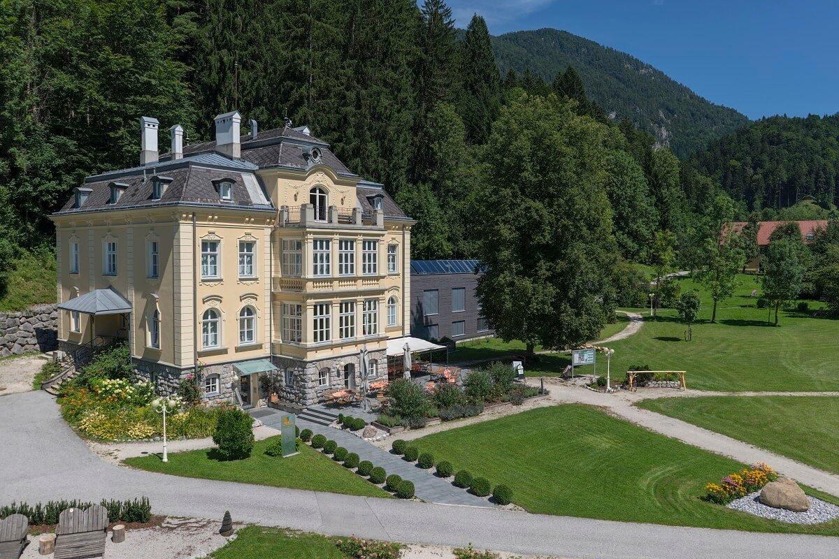 Villa Sonnwend im Sommer
