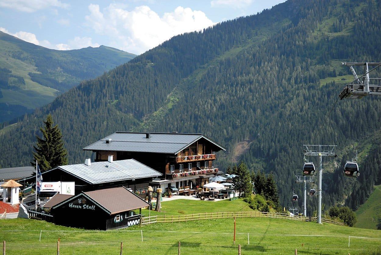 Alpenoase Sonnhof im Sommer