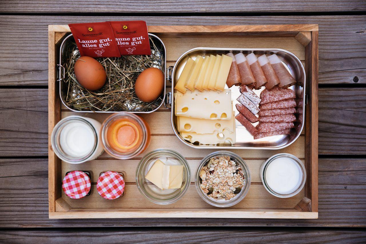 Frühstück AlpHus Appartements