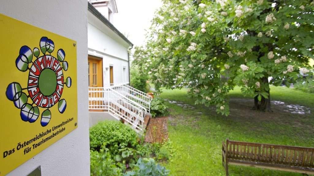 Hotel Landhofmühle mit Umweltzeichen