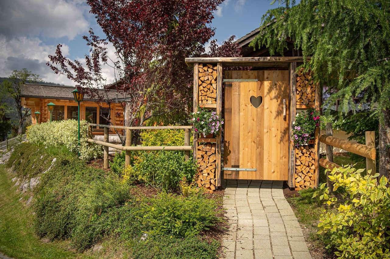 Umweltzeichen Hotel Die Seitenalm Garten