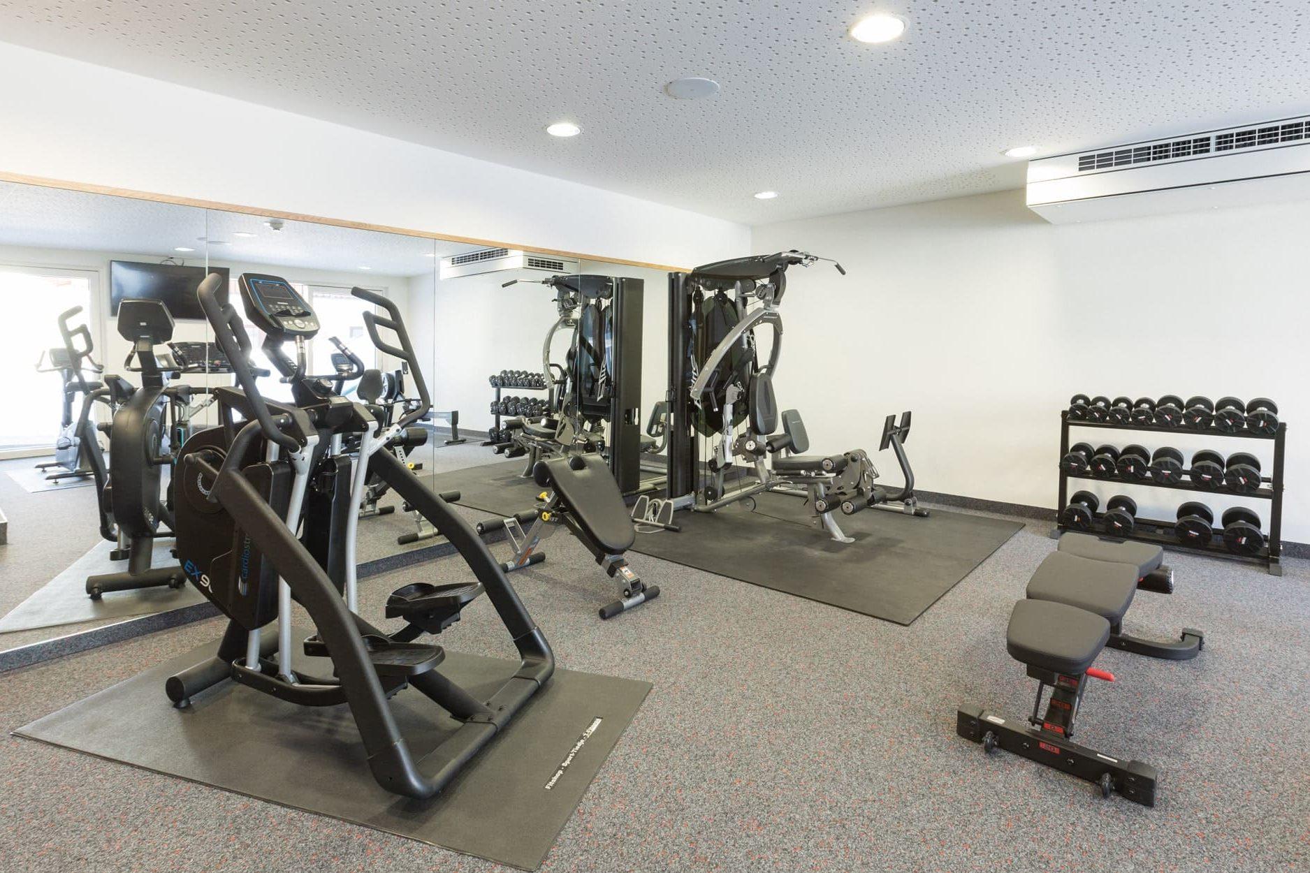 Fitnessraum Panoramahotel Gürtl