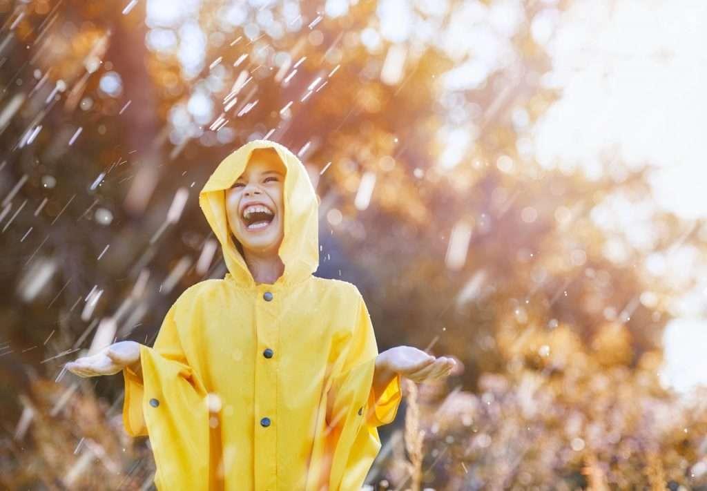 Regenwetter Herbst
