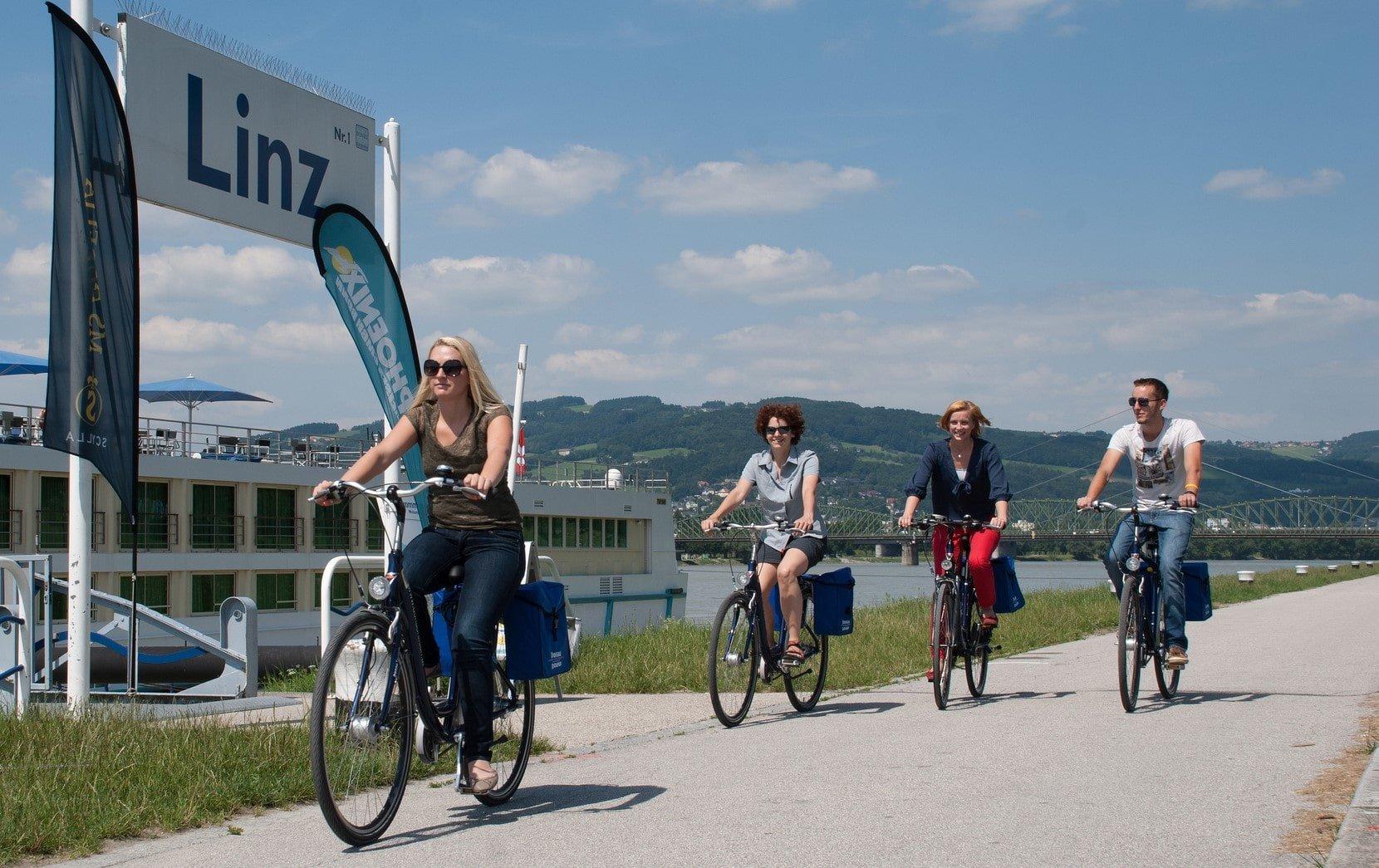 Radfahren Umweltzeichenpackage Hotel Kolping Linz