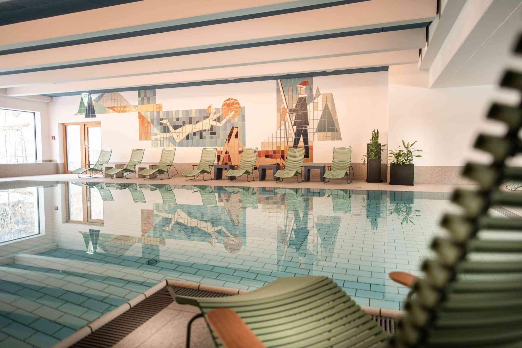 Tauernhof Umweltzeichen Hotel Hallenbad