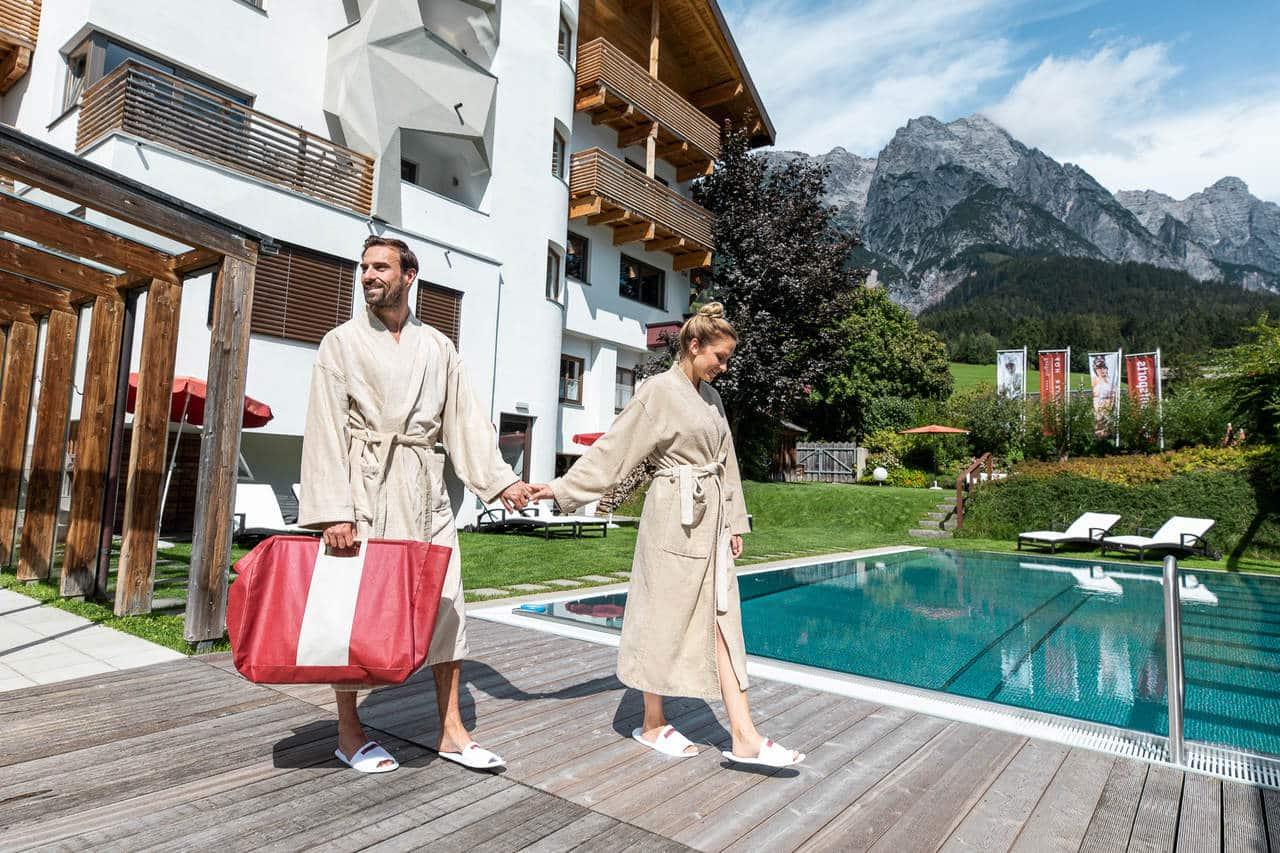 Wellness_Salzburger Hof Leogang Umweltzeichen Hotel